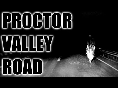 Ghosts, Cults and Murderous Legends of Proctor Valley Road, CA