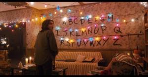 Stranger Things Spirit Board